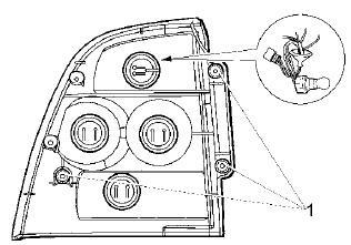 Замена ламп в заднем фонаре Лады-Приоры
