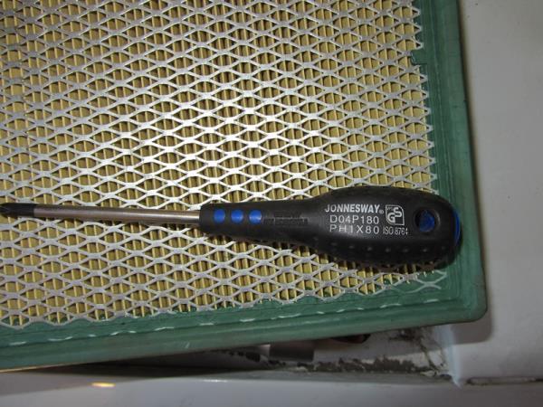 отвертка для замены воздушного фильтра на ВАЗ 2105-2107 инжектор
