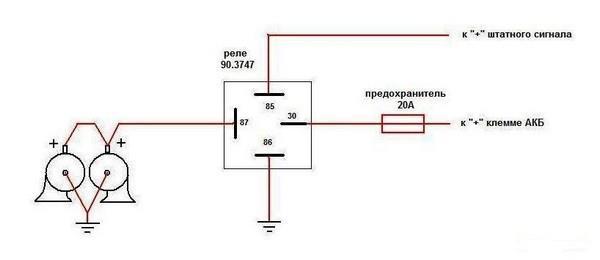 Установка звуковых сигналов от «Волги» на ВАЗ 2108