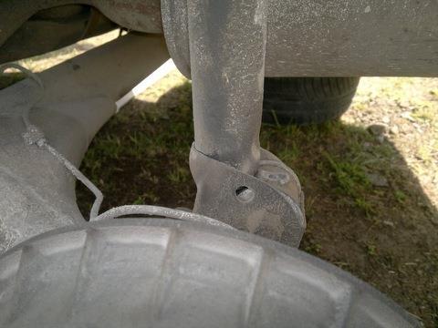 Снятие задних пружин ВАЗ 2107