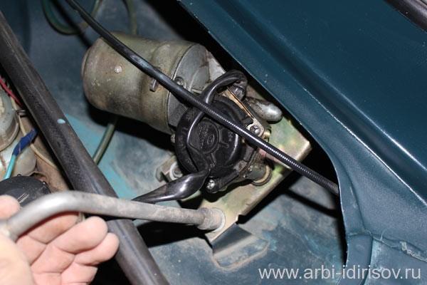 как заменить моторчик дворника ваз 2107