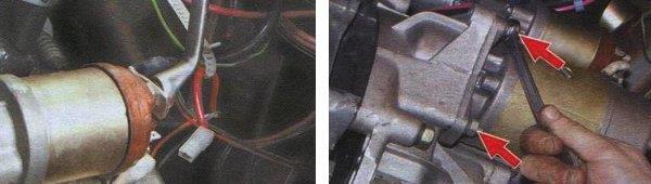 Снятие коробки переключения передач ваз 2108