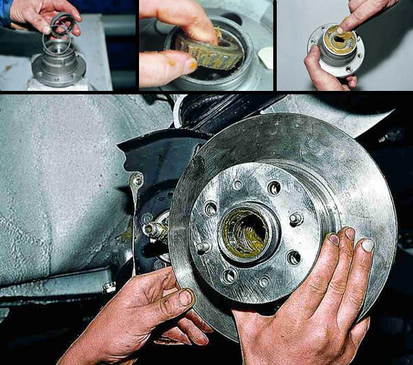 Замена подшипника передней ступицы ваз 2106 своими руками - Urbiznes.ru