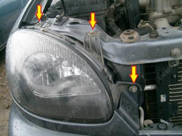 Замена ламп в ПТФ