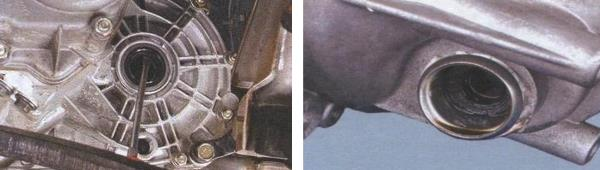 Замена сальников коробки передач ваз 2108