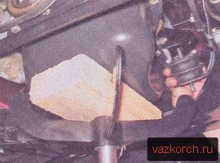 Замена подушек двигателя ваз 2101, 2106, 2107