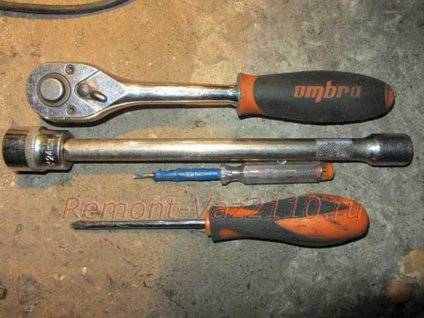 инструмент для снятия руля на ВАЗ 2110-2112
