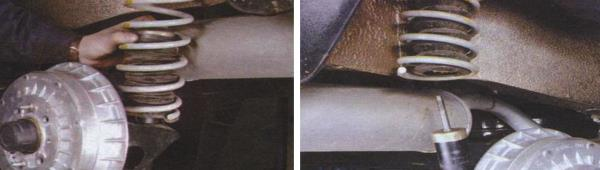 Замена пружин задней подвески ваз 21099