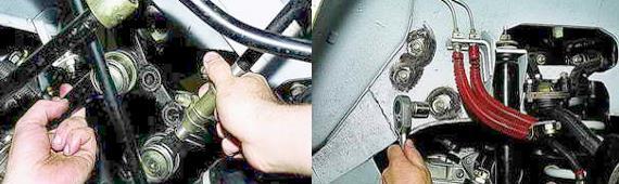 Как снять рулевой механизм Нива 2121 2131