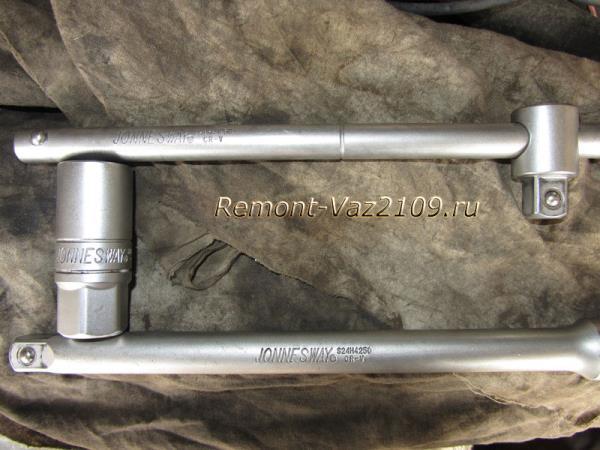 инструмент для замены свечей зажигания на ВАЗ 2109-2108