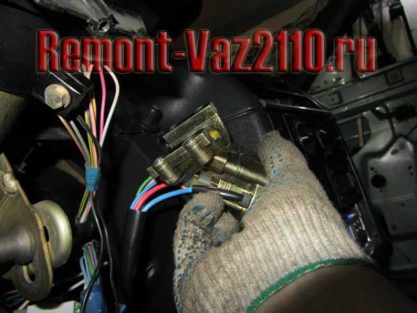 замена замка зажигания на ВАЗ 2110-2112