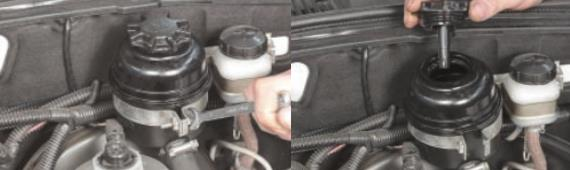 Замена жидкости в системе гидроусилителя Нива Шевроле