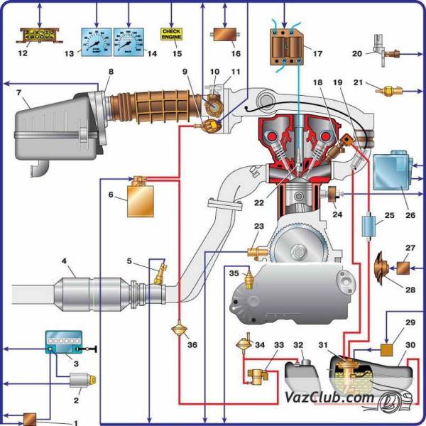 ВАЗ 2109 16 клапанный