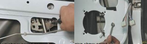 Замена подвижного стекла передней двери Нива Шевроле