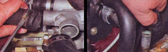 замена прокладки головки блока цилиндров инжекторного двигателя ваз 2107