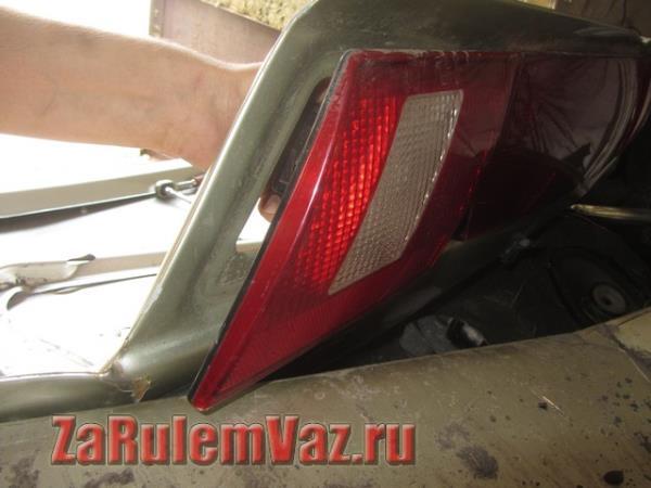 замена заднего фонаря на ВАЗ 2115