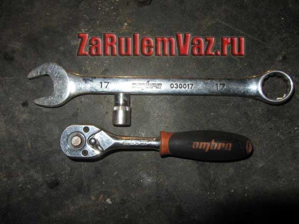 инструмент для замены топливного фильтра на ВАЗ 2114-2115