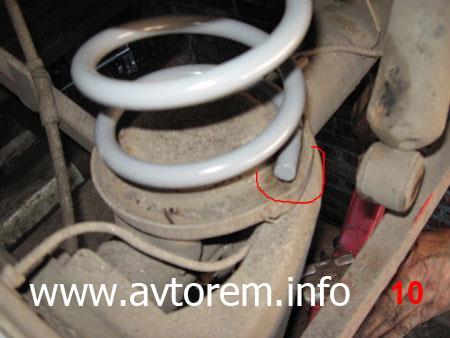 Правильно устанавливаем задние пружины на автомобиль ВАЗ-2101, ВАЗ-2104, ВАЗ-2105, ВАЗ-2106, ВАЗ-2107, Классика