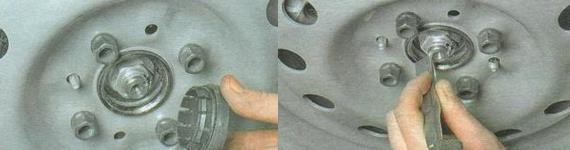 Подшипник ступицы переднего колеса Лада Гранта
