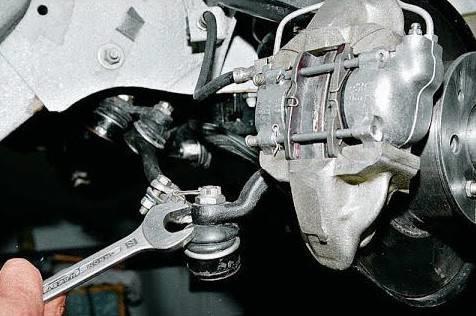 Замена рулевых тяг на шестёрке своими руками