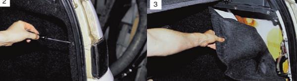 Как снять задние фонари Ваз 2111