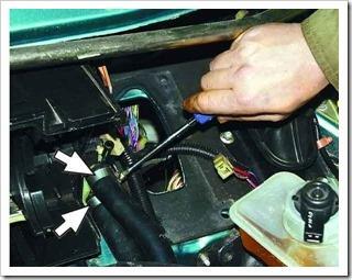 установка радиатора отопителя на ваз 2110