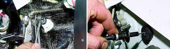 Замена педали привода дроссельной заслонкой Нива 2121 и 2131