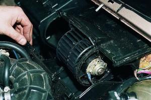 Замена моторчика печки ВАЗ-2115