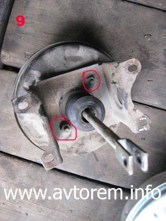 Замена вакуумного усилителя педали тормоза своими руками на автомобиле ВАЗ 2108, ВАЗ 2109, ВАЗ 21099, ВАЗ 2110, ВАЗ 2113, ВАЗ 2114, ВАЗ 2115