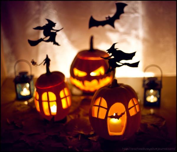 Фонарь джека на хэллоуин своими руками из бумаги
