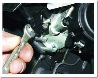 Как заменить подшипники вала рулевого управления на ВАЗ 2110