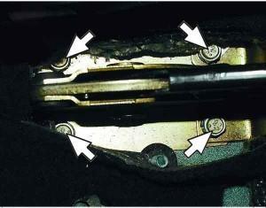 ремонт стояночного тормоза ваз 2110