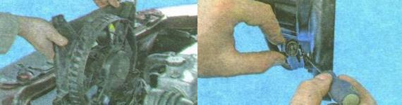 Замена двигателя вентилятора охлаждения радиатора Лада Гранта