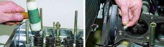 Сборка и установка головки блока Ваз 2121 и 2131 инжектор Нива