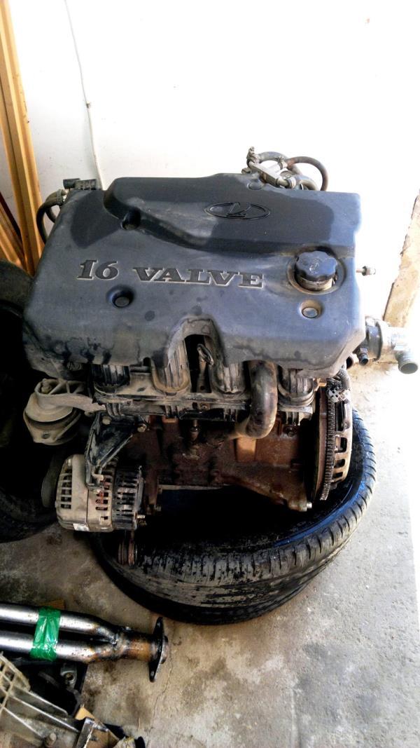 Замена двигателя ВАЗ 21074