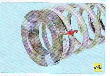Замена задних стоек на калине-установить прокладку