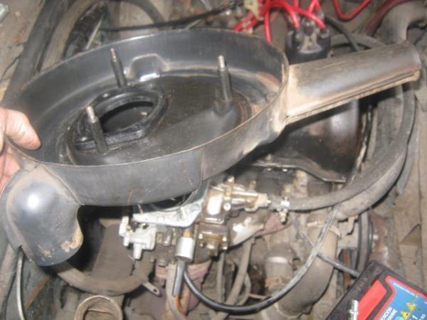 снятие корпуса воздухана на ВАЗ 2101-2107