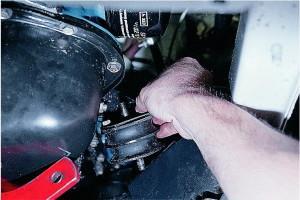 Замена подушек двигателя на ВАЗ 2107