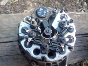 Снятый генератор