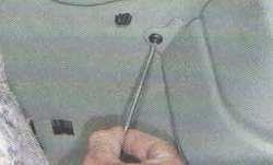 Амортизатор Лада Ларгус (задний). Снятие и установка.