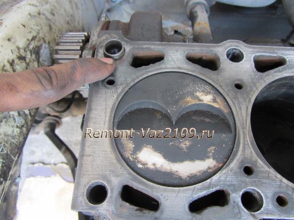 установка прокладки ГБЦ на ВАЗ 21099-2108-2109