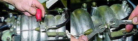 Замена троса привода дроссельной заслонкой Нива 2121 2131
