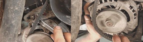 Замена переднего сальника коленчатого вала Нива Шевроле