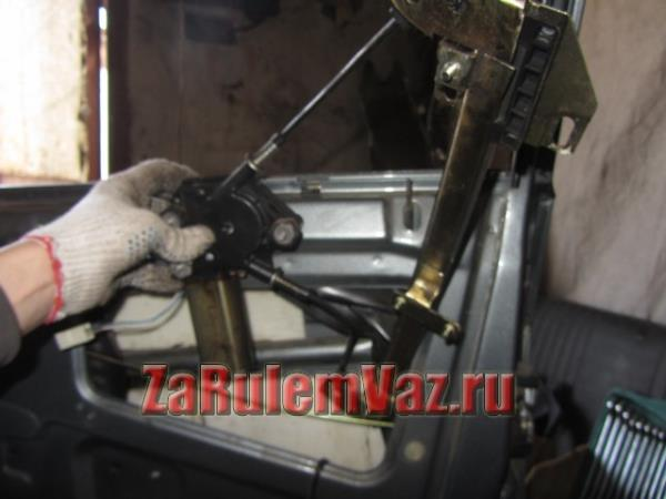 замена стеклоподъемника на ВАЗ 2114 и 2115