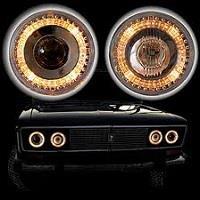 Замена лампы ближнего света в фаре ВАЗ 2106