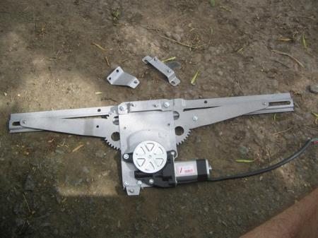 ножничные ЭСП на Ваз 2109