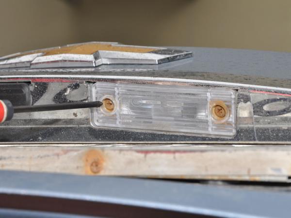 замена ламп chevrolet cruze