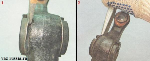 Подгибание тонким зубилом и молотком краюшка наружного кольца и после чего снятие одной из двух частей сайлентблока при помощи толстого зубила и того же самого молотка