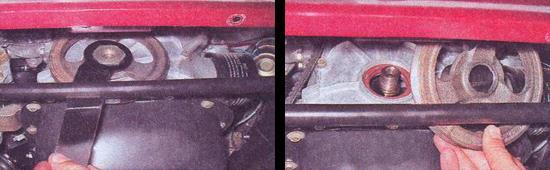 замена переднего сальника коленвала ваз 2107