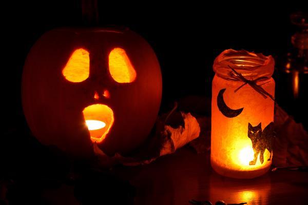 картинки : легкий, пылающий, ночь, ужасный, темно, праздник, украшение, оранжевый, Осень, Тыква, Хэллоуин, день отдыха, Темнота,